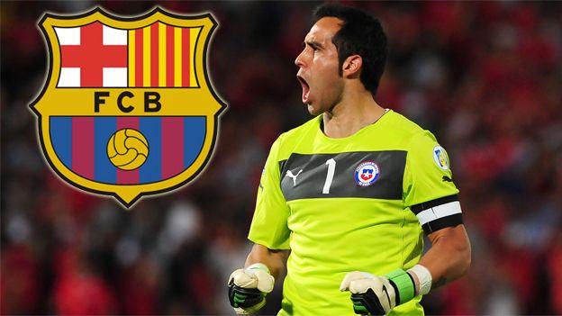 Barcelona tiene un acuerdo con Claudio Bravo para que sea su nuevo arquero #Depor