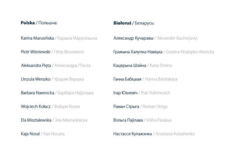 List of participants of I edition of Etno-projekt 2011