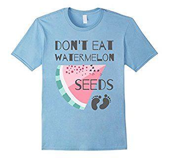 Amazon.com: Do Not Eat Watermelon Seeds - Cute T-Shirt: Clothing