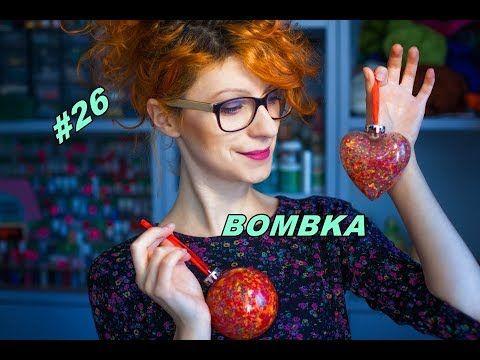 DIY Jak zrobić kolorową bombkę na choinkę - YouTube