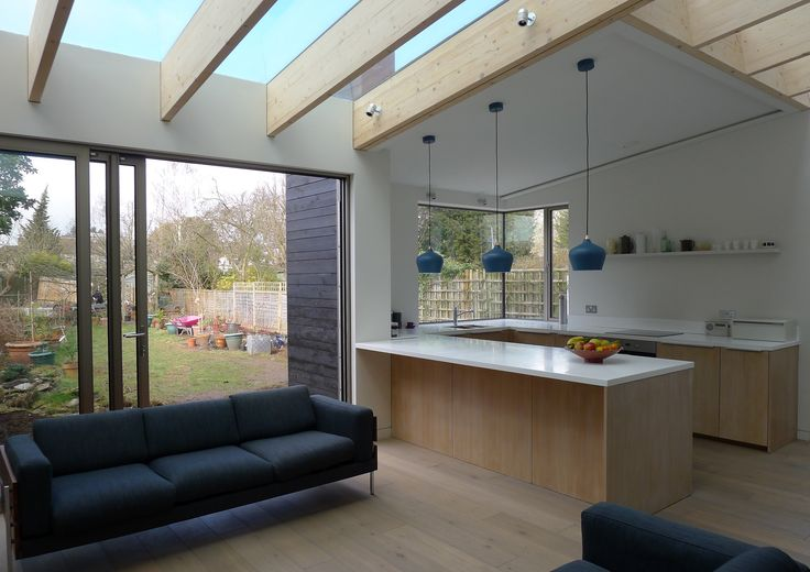 Glulam Extension by Green and Teggin Architects