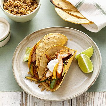 80 best easy mexican meals images on pinterest mexican meals mexican inspired chicken fajitas familycircle forumfinder Choice Image