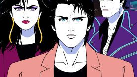 Moonbeam City – new Archer-esque show in Patrick Nagel style