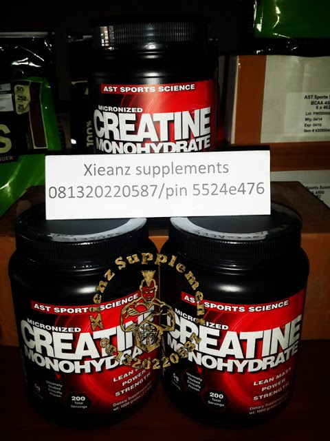 Xienz Supplement: MICRONIZED CREATINE MONOHYRATE SUPLEMEN FITNES
