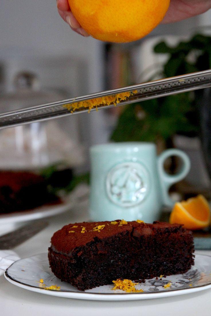 #madameginger: Το σοκολατένιο κέικ που δεν θέλει βούτυρο και είναι σούπερ ελαφρύ