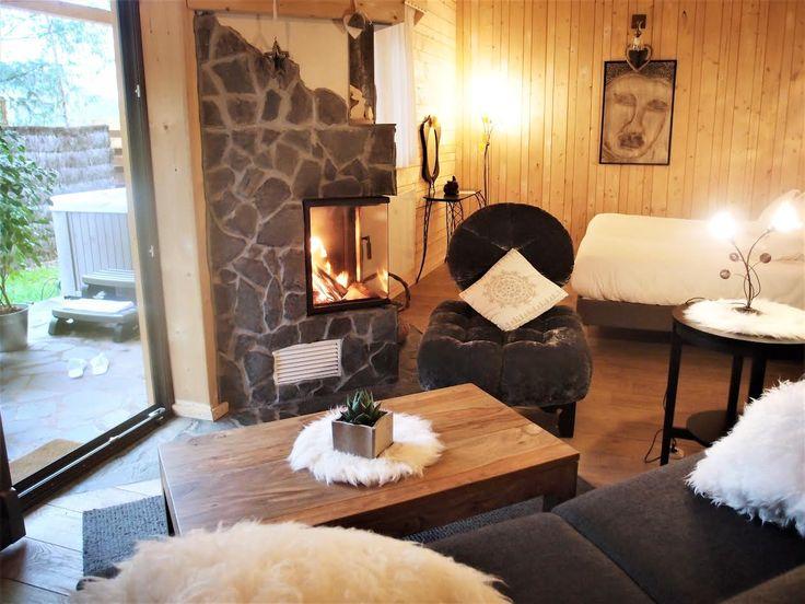 Chambre avec jacuzzi  Chalet cocoon