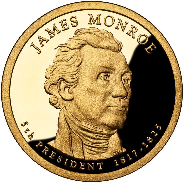 James Monroe 2008 US Presidential One Dollar Coin