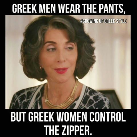 Yes so man be carefull with Greek women