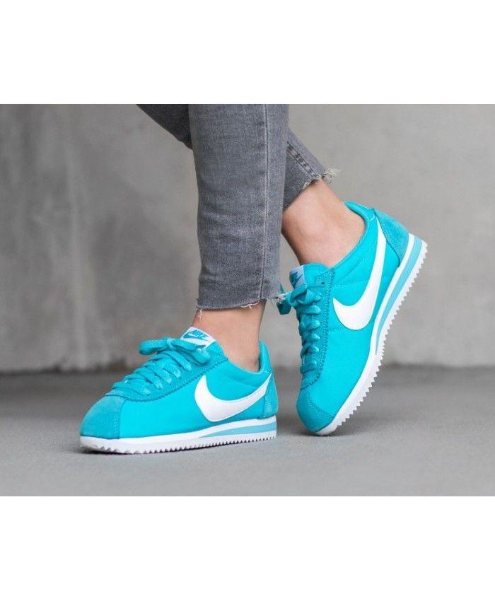 chaussure nike bleu femme