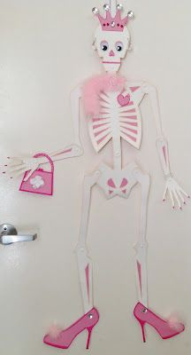 how about a sk8r skeleton for a boys room!