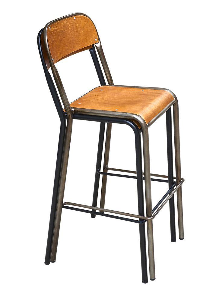 BISTRO SCHOOL bar chair