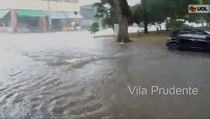 Galdino Saquarema Noticia: Chuva provoca alagamentos em vários pontos da cidade em SP...