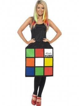 Rubik's Kubus Kostuum Vrouw