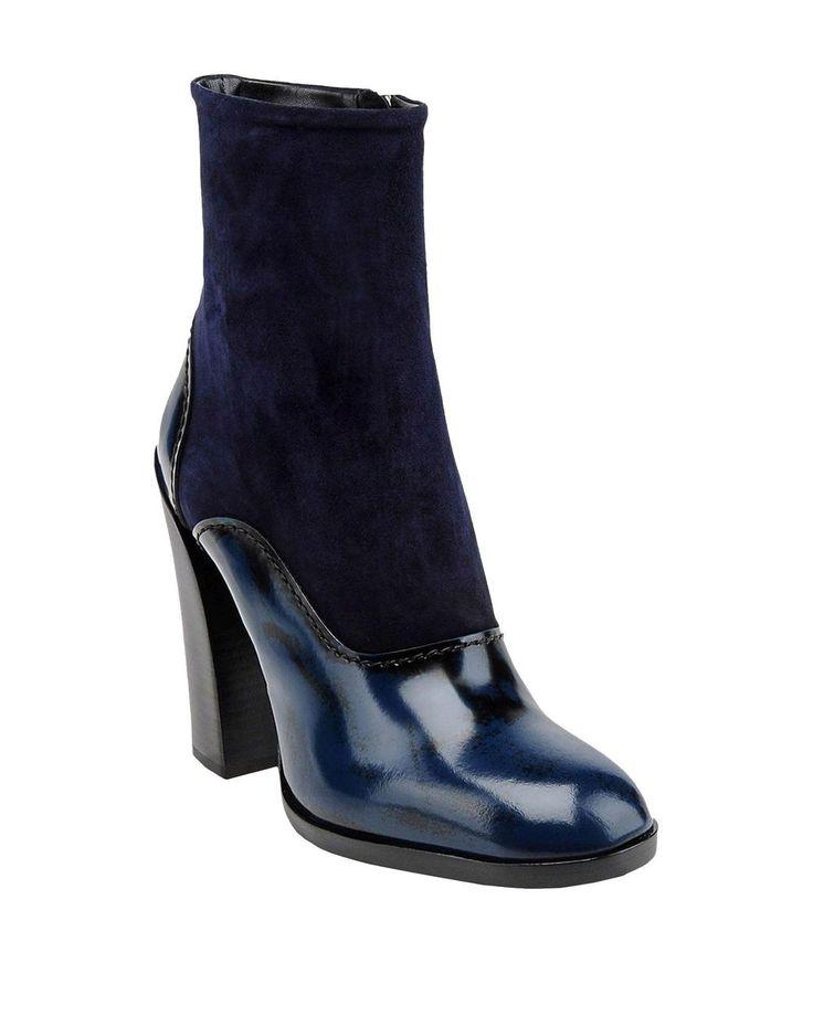 Jil Sander   Blue Ankle Boots   Lyst