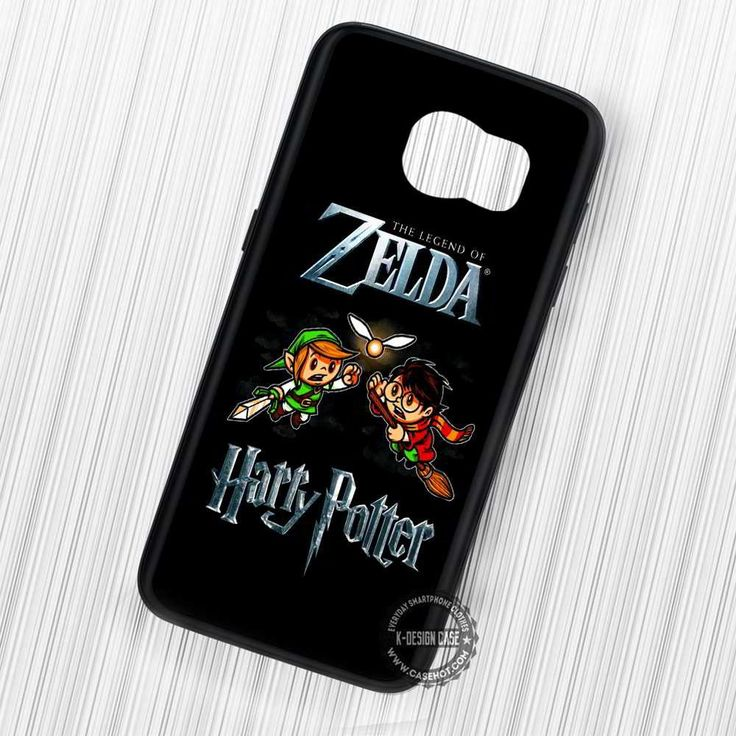 Harry Potter Snitch Legend of Zelda Quidditch - Samsung Galaxy S7 S6 S5 Note 7 Cases & Covers