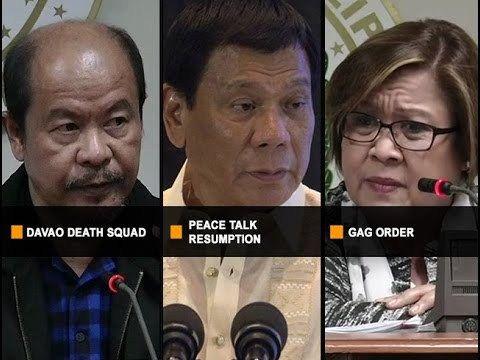 UNTV: C-News (March 6, 2017) - WATCH VIDEO HERE -> http://dutertenewstoday.com/untv-c-news-march-6-2017/   – Self-confessed hitman na si SPO3 Arthur Lascañas, idinetalye ang umano'y operasyon ng Davao Death Squad sa kanyang pagharap sa panibagong pagdinig sa Senado. – Senator Leila de Lima, humingi rin umano ng pera kay pork barrel scam queen Janet Napoles kapalit ng tuluyang ...