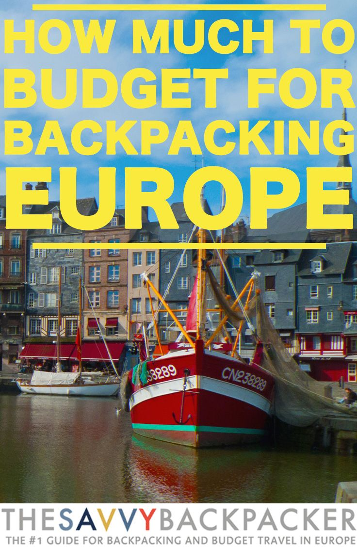 How Much To Budget For Backpacking in Europe — The ULTIMATE Guide For Budget Travelers.