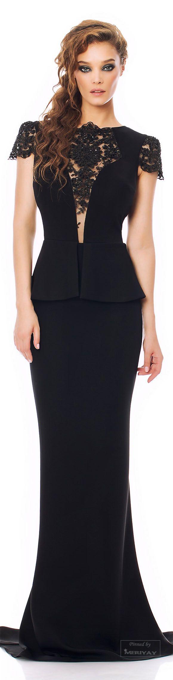 Blue black tie dresses