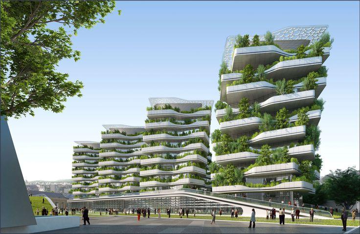Gallery of Città della Scienza Masterplan Predicts Future of Self-Sustaining Cities - 4