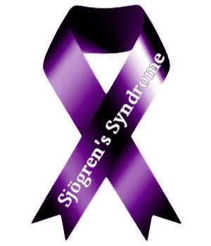 Sjogren's Syndrome - Like this color of purple.  Didn't know SS had a ribbon.