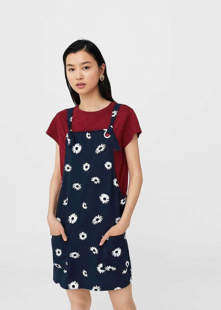 Eyelets pockets dress - Women | MANGO USA