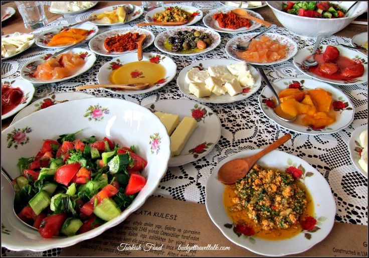 Ten Reasons to Visit Istanbul - The Turkish Village Breakfast at Cafe Privato in the Galata District of Beyoglu.  Tip - Ask for a table out the back for the sneaky view of Galata Tower.