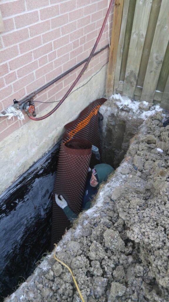 Exterior Basement Waterproofing Toronto Waterproofing Basement