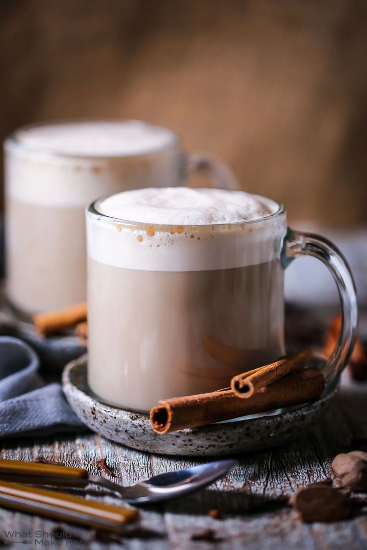 With temperatures turning cooler, warm up from the inside out with a spiced and spiked chai latte.