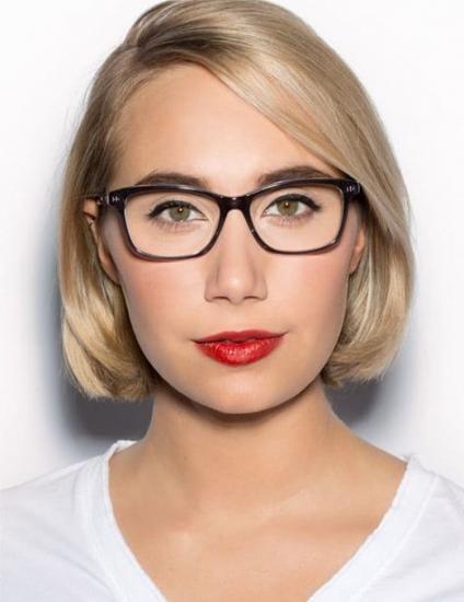 Am besten Make-up mit Brille tragen braune Augen 47+ Ideen