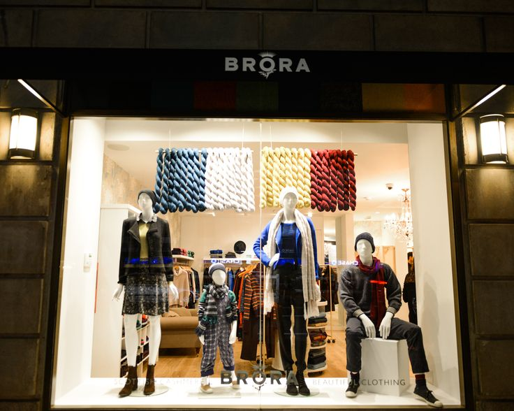 We are so excited about the new Brora shop in New York!