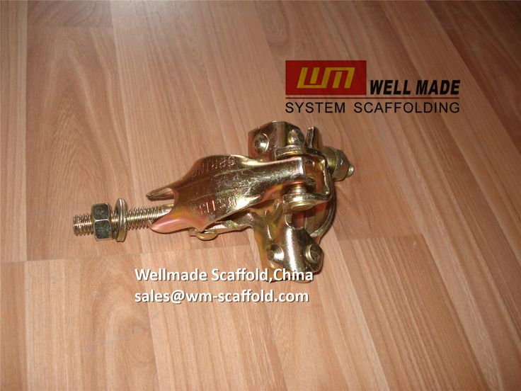 Welmade Scaffold,China: Pressed Steel Scaffold Swivel Coupler BS1139 British Standard for OD48.3mm Scaffold Tube