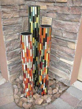 трубы пхв с мозаикой