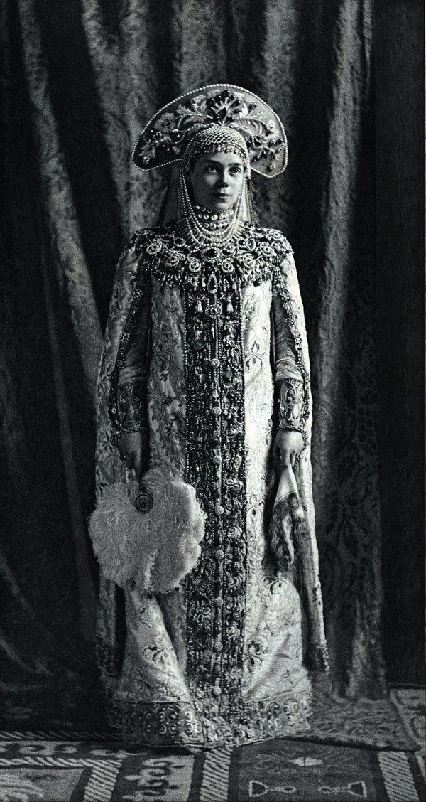 Grand Duchess Xenia, sister of the last tsar, a surviving Romanov