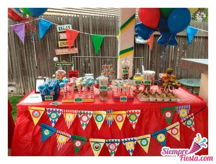 28 best fiesta de elmo images on pinterest parties kids - Cosas para fiestas de cumpleanos ...