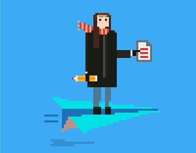 "Check out new work on my @Behance portfolio: ""Personajes pixelados. Pixelated characters"" http://on.be.net/1iDpXCo"