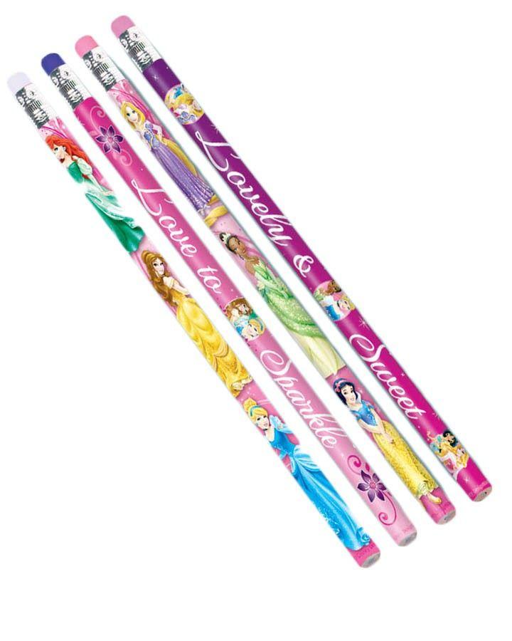 Disney Sparkle Princess Pencil Favours