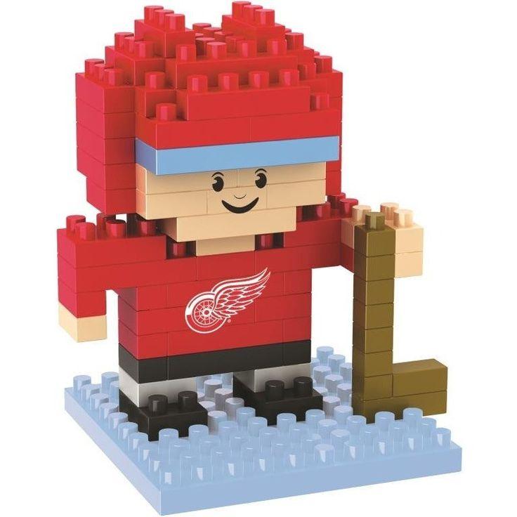 Detroit Red Wings NHL BRXLZ 3D Construction Puzzle Set - Player