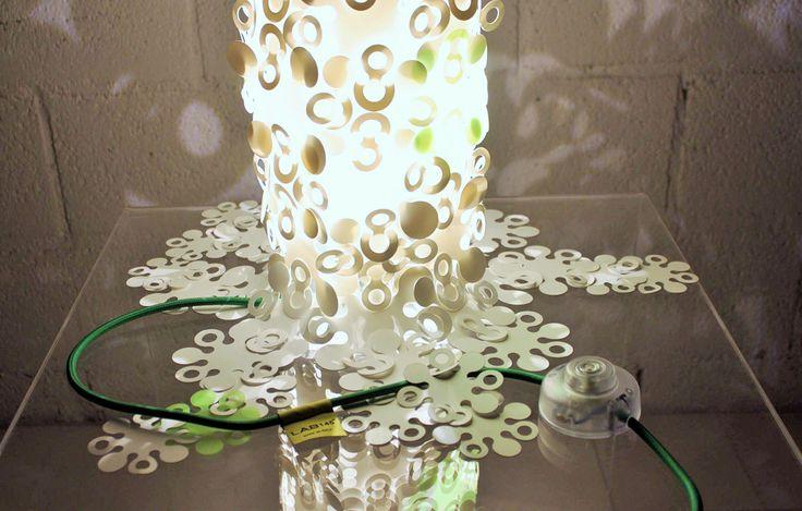 Shapes modular table #lamp - Lab145 #Design #Factory