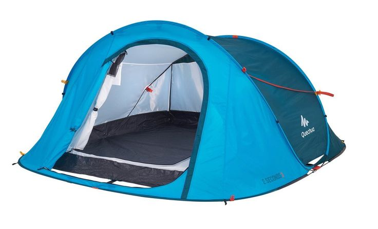 Quechua Waterproof Pop Up Camping Tent 2 Seconds Easy III, 3 Man >>> Click image for more details.