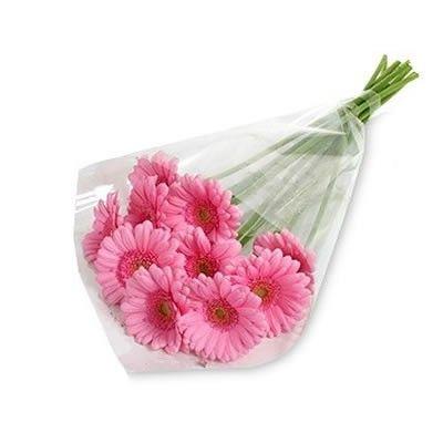Букет из розовых гербер с бесплатной доставкой в Москве http://www.dostavka-tsvetov.com/tsvet/gerberi-rozovaya-dama