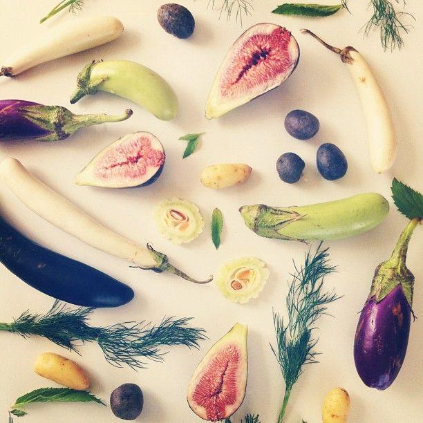 Instagrammed Food Collages by Julie Lee. http://www.Julieskitchen.me