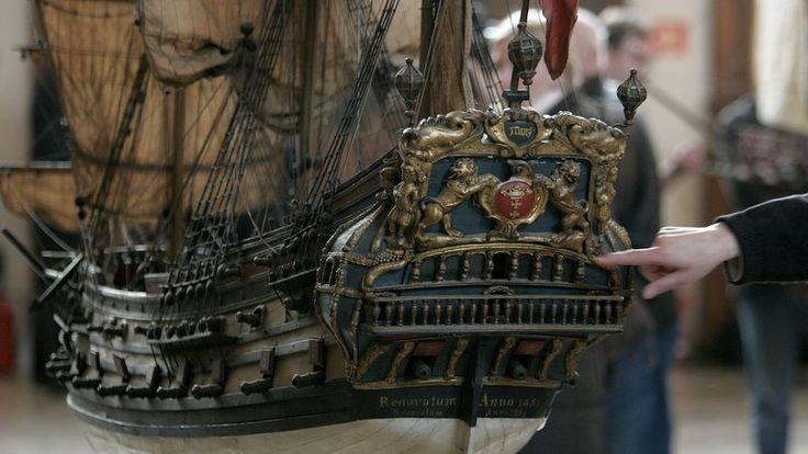 Galeon Mars-maqueta de este navio danes.