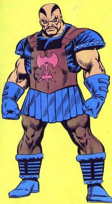 La fiche Marvel Universe de L'Exécuteur, Dieu de la Guerre asgardien