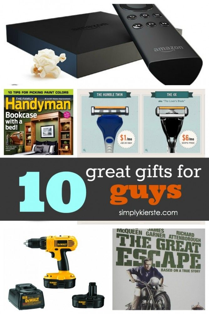 If you're looking for a gift for the man in your life, don't miss these ...