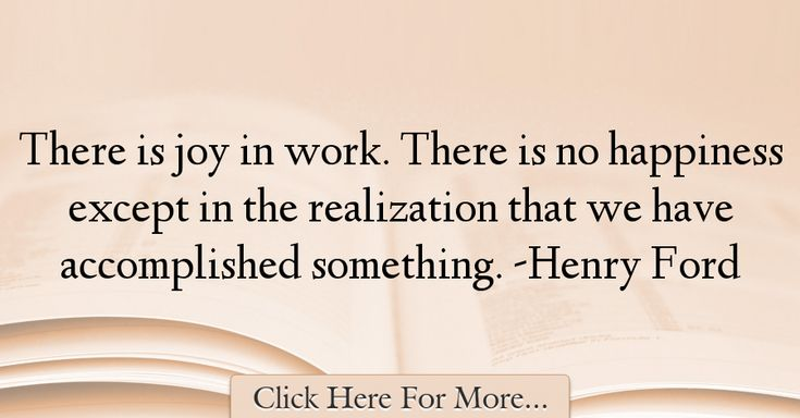 Henry Ford Quotes About Work - 74459
