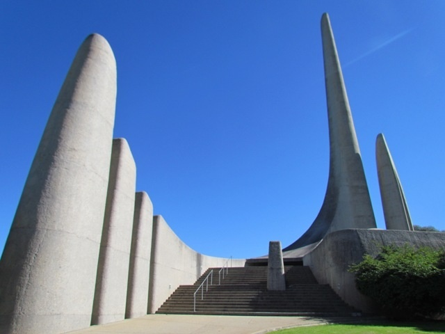 Taal Moniment Paarl. Designed and built by architect Jan ...