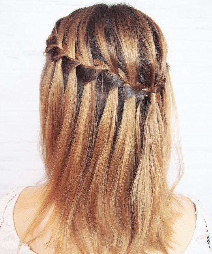 Waterfall jest super dla każdej długości włosów  potraficie go zrobić? #365daysofbraids #day93 #warkocz #wodospad #warkocze #fryzury #krokpokroku #blogowlosach #fryzuromania #wlosomaniaczka #braidideas #hairart #lovehair #hotd #braidschallenge #hairstylist #hairblogger #hairblog