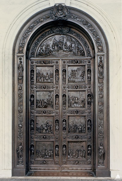 The Columbus Doors also called the Rogers Doors or Rotunda Doors stand imposingly at & 63 best United States Capitol - Where I Work images on Pinterest ...