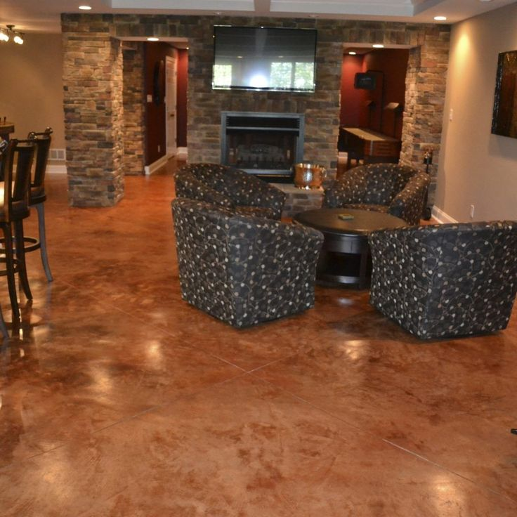 How To Carpet A Basement Floor: Best 25+ Concrete Basement Floors Ideas On Pinterest