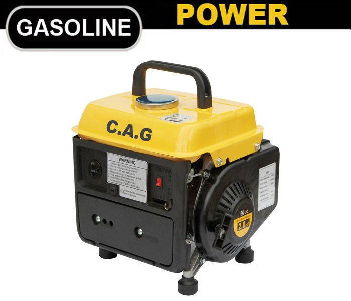 750watts Portable Generator for Home,Gasoline Generator Manufacturer